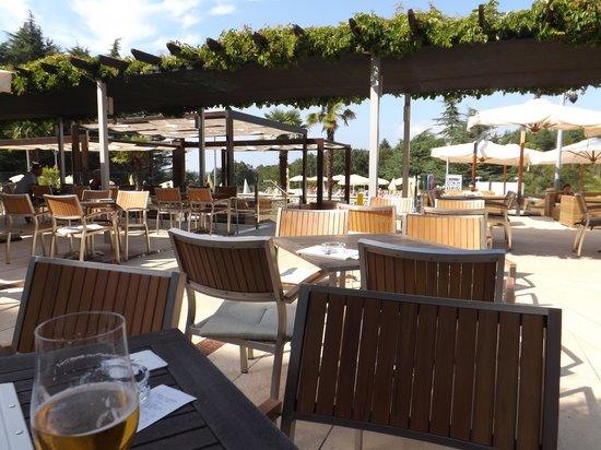 Hotel Laguna Mediteran: patio