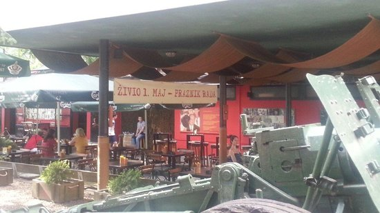 Caffe Tito: Communist past in an artform. Awesome.