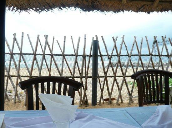 Beach Wadiya: Seen from the dining area