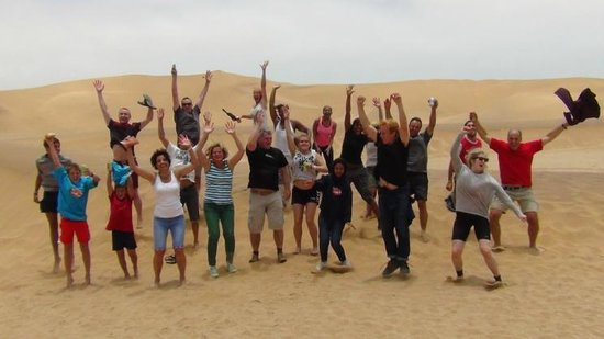 Alter Action Sandboarding: Best Experience. Everyone's happy.