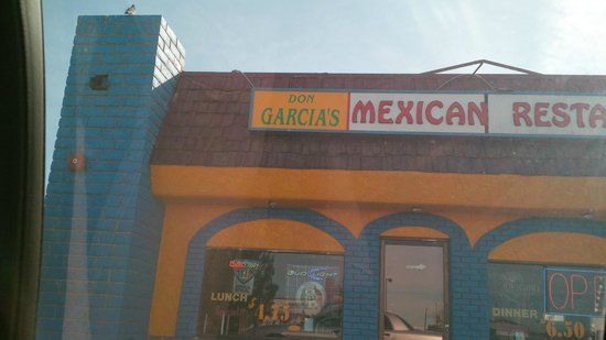 Don Garcia's : front of the restaurant