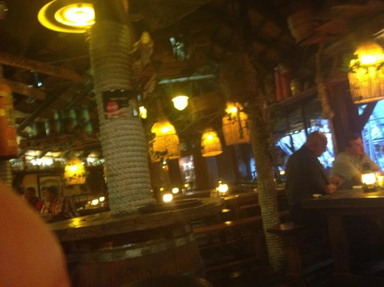 Joe's Beer House : one of the bar areas - fun eclectic decor