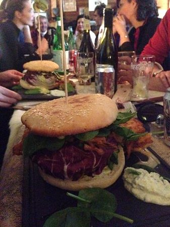 La Peau de Vache : burger