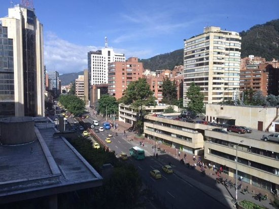 Hilton Bogota: View from our room