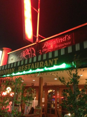 Photo of Ethiopian Restaurant Rosalind's Ethiopian Cuisine at 1044 S Fairfax Ave, Los Angeles, CA 90019, United States