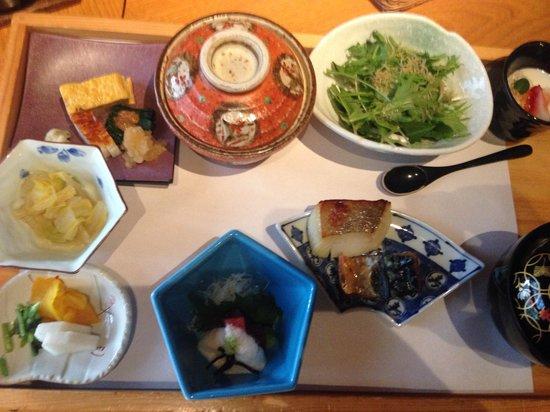 Kira no Sato: 朝食(和食)