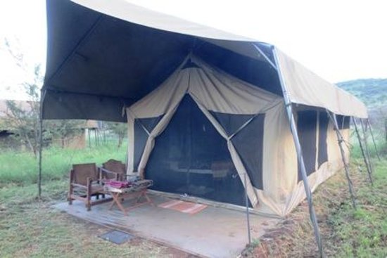 Serengeto Osupuko Tented Camp: bug free tent.