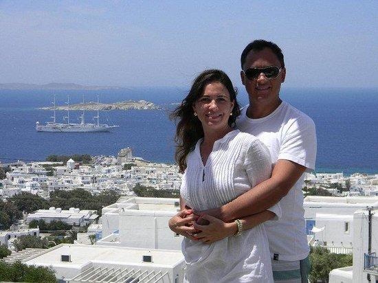 Hermes Mykonos Hotel : Foto tirada do hotel