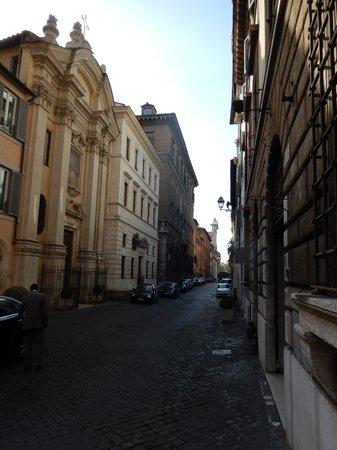 Hotel Indigo Rome - St. George: Hotel Street