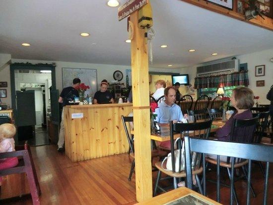 Cove Cafe: inside of restaurant