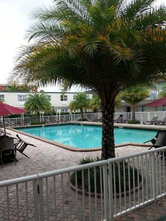 Ramada by Wyndham Miami Springs/Miami International Airport: AREA DE LA PISCINA
