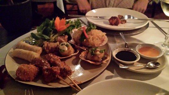 Thai Garden 2112: uno de los fantasticos platos