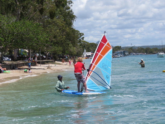 Noosa Watersports: learning to windsurf noosa