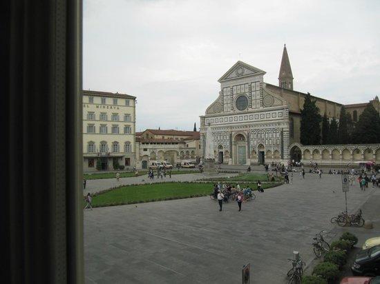 Santa Maria Novella Hotel : View from bed!
