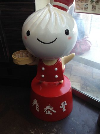 Din Tai Fung Dumpling House: restaurant mascot