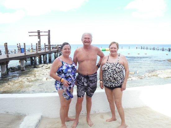 Stingray Beach: After holding stingrays & snorkeling