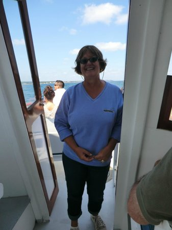 Finestkind Scenic Cruises: narrator, the wife