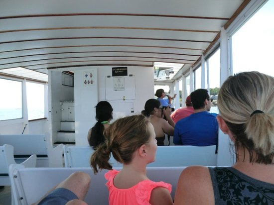 Finestkind Scenic Cruises: inside of boat