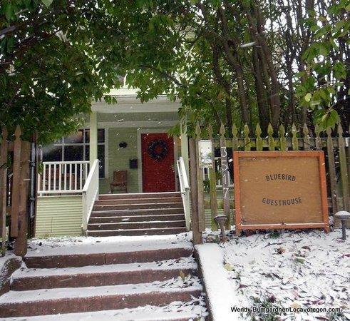 Bluebird Guesthouse entry