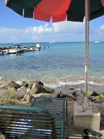 Timothy Beach Resort: From my beach chair