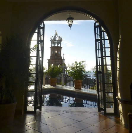 Casa Amorita: view from the common area