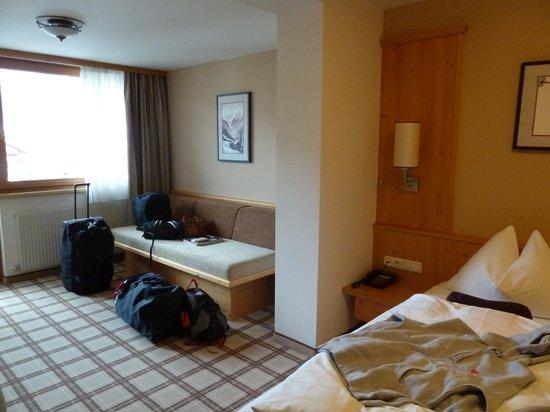 Hotel Zentral: plaats om uit rusten leuke zitplaats