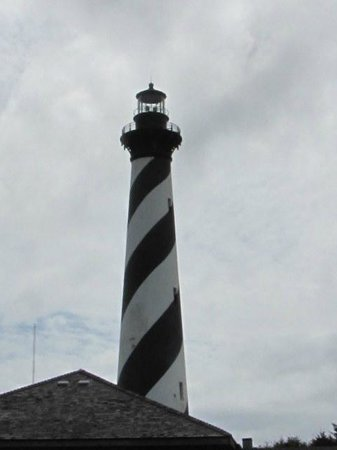 Shipwreck Grill: Cape Hatteras Light House near the Shipwreck Restaurant