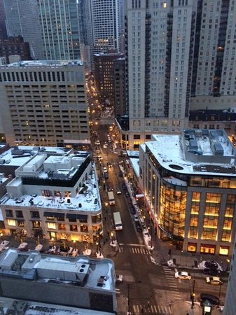 Thompson Chicago, a Thompson Hotel : View from the 21st floor