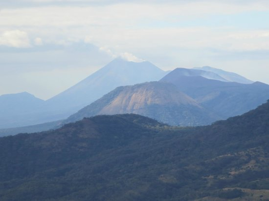 Cerro Negro Volcano : view from the top