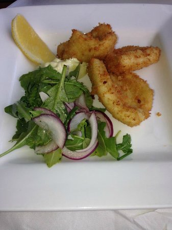 Pippies by the Bay: Fried Squid, with home made Aioli