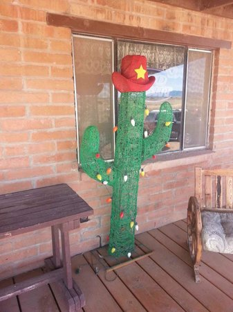 Ranch House Restaurant : Cactus on front porch