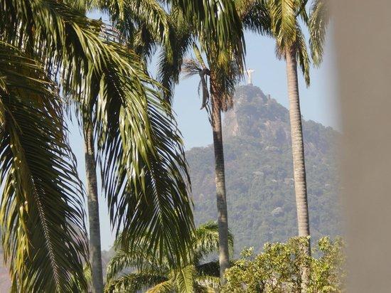 Hotel Novo Mundo: Vista do apartamento.