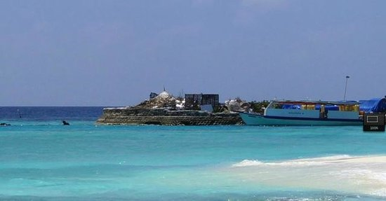 Robinson Club Maldives: The supply island (closer look)
