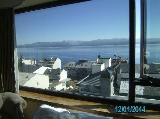 Panamericano Bariloche: Habitación con vista al lago