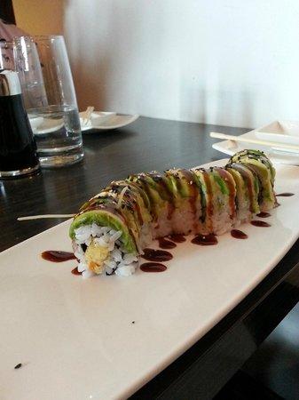 Wasabi Sabi : Caterpillar Roll