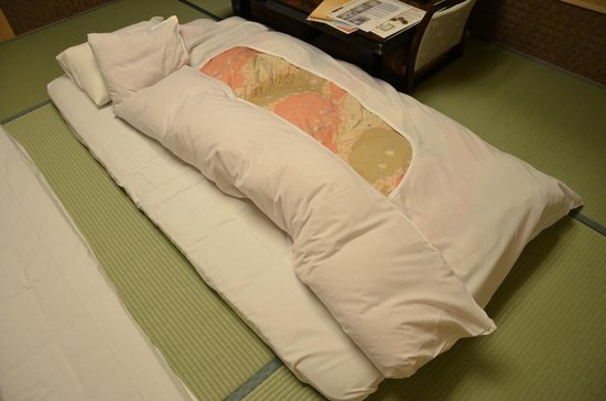 Yumotokan: Bedding