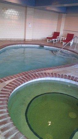 Travelodge Savannah Gateway: green spa, small pool