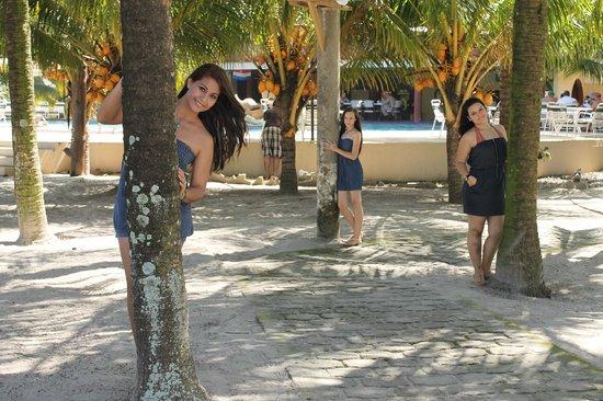 Honduras Shores Plantation: posando...