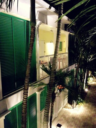 Almond Tree Inn: So quiet, tropical and charming!