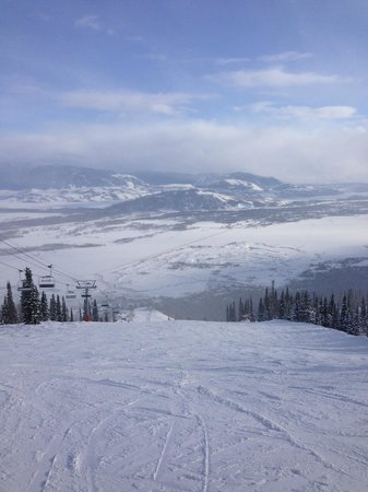 Jackson Hole Mountain Resort : Top of the Run, just off of the Bridger Gondola