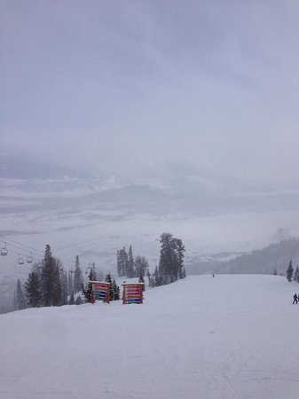 Jackson Hole Mountain Resort : Top of Apres Voux lift