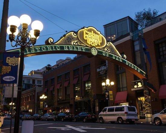 Gaslamp Quarter Sign - Picture of Gaslamp Quarter, San ...