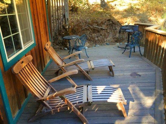 Buckeye Tree Lodge: Patio area