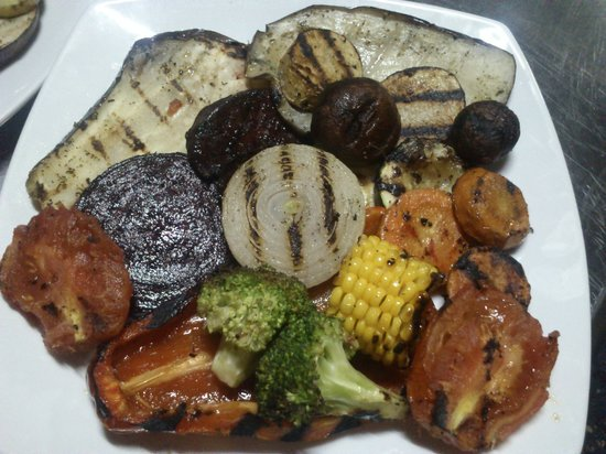 Terrazzo Ristorante & Bar: Verdure grill,