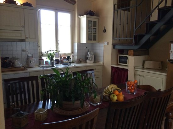 Il Bargello B&B: Kitchen/Breakfast area