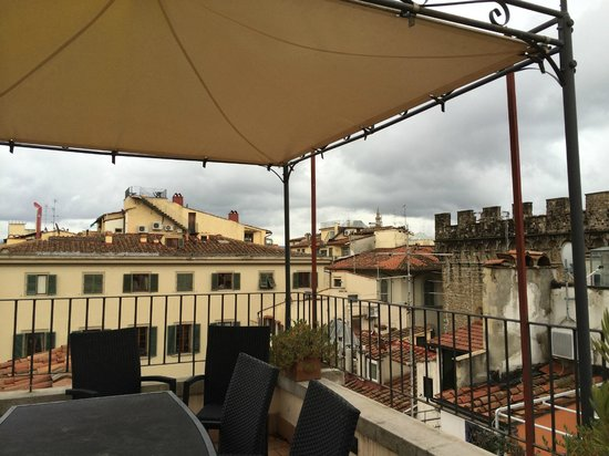 Il Bargello B&B: Rooftop patio
