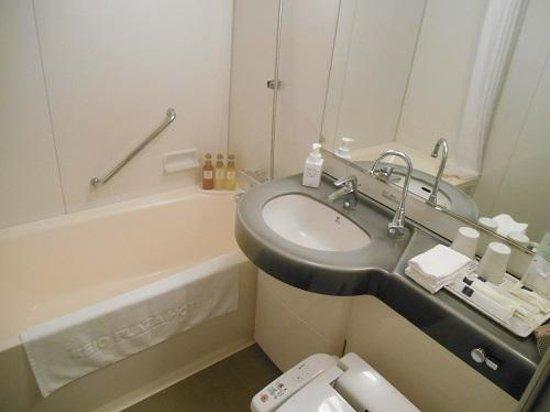 Keio Plaza Hotel Sapporo: バスルーム