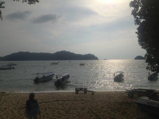 Pangkor Sandy Beach Resort: sunset view
