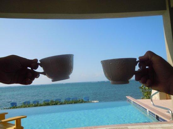 Cayman Castle: afternoon tea