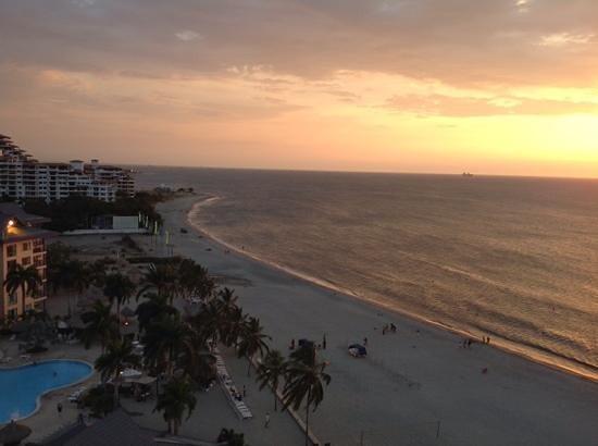Zuana Beach Resort : vista desde la suite....